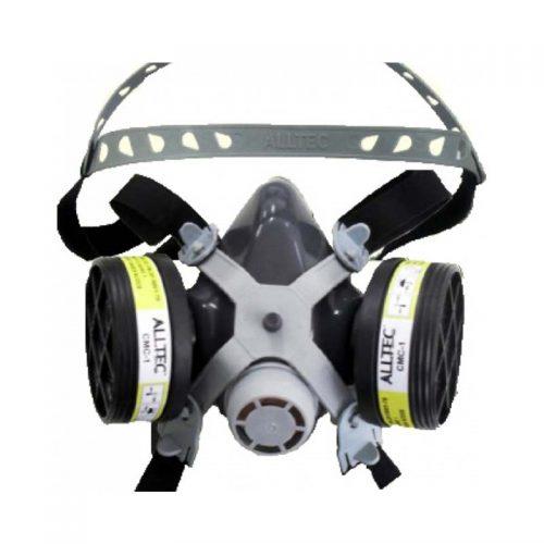 Respirador Semi-Facial com 2 Cartucho Alltec