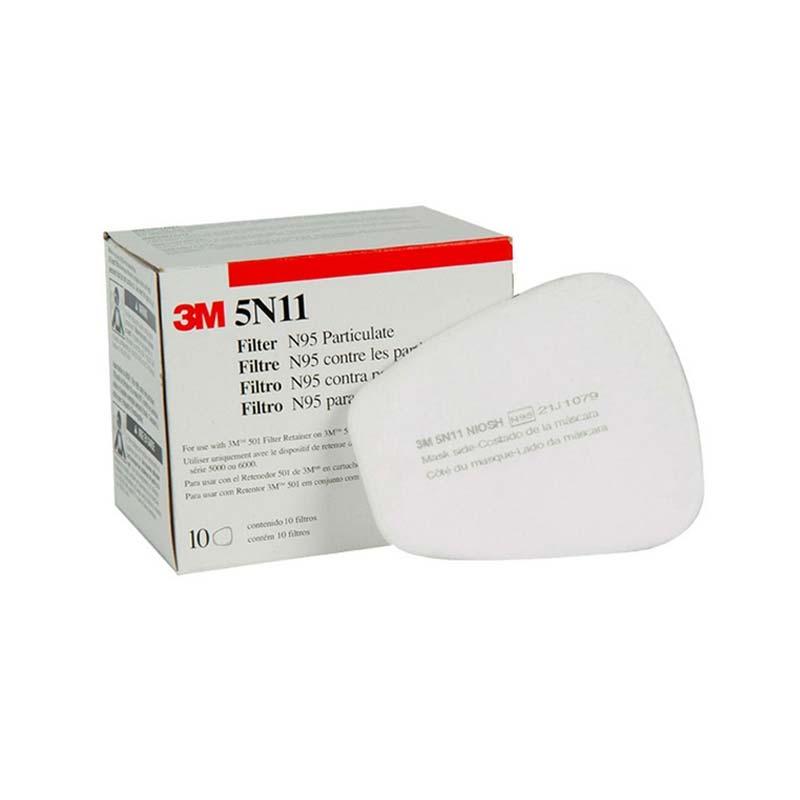 Filtro 5N11 para Respirador 6200 3M