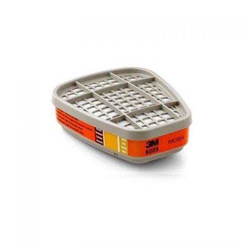 Cartucho 6009 para Respirador 6200 Mercurio/Gas 3M
