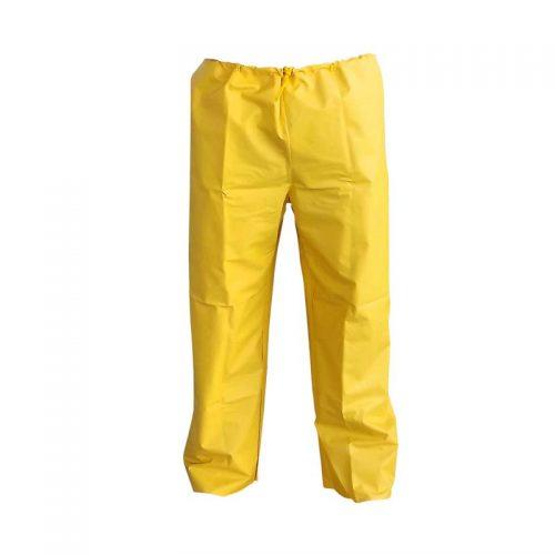 Calça PVC Forrada Amarela