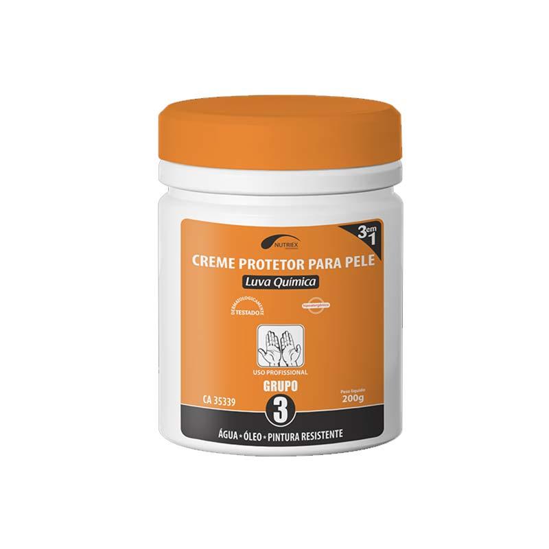 Creme Luva Química 3 AG/OL/PIN 200G Nutriex