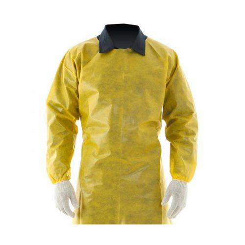 Avental Barbeiro Amarelo 4000 Duvek