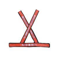 Colete PVC Tipo X Refletivo Laranja