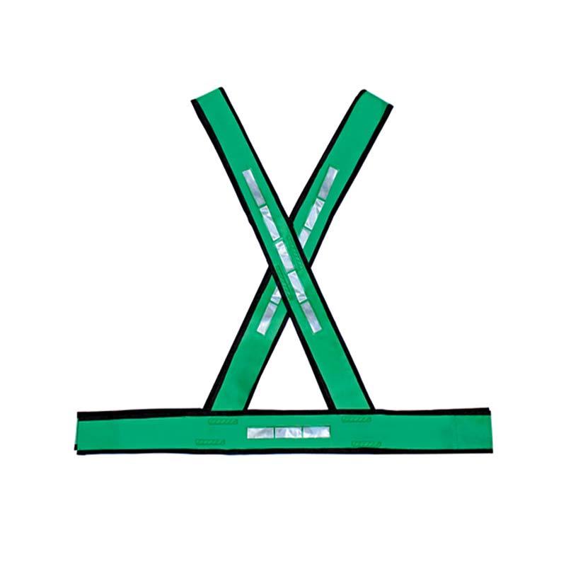 Colete PVC Tipo X Refletivo Verde