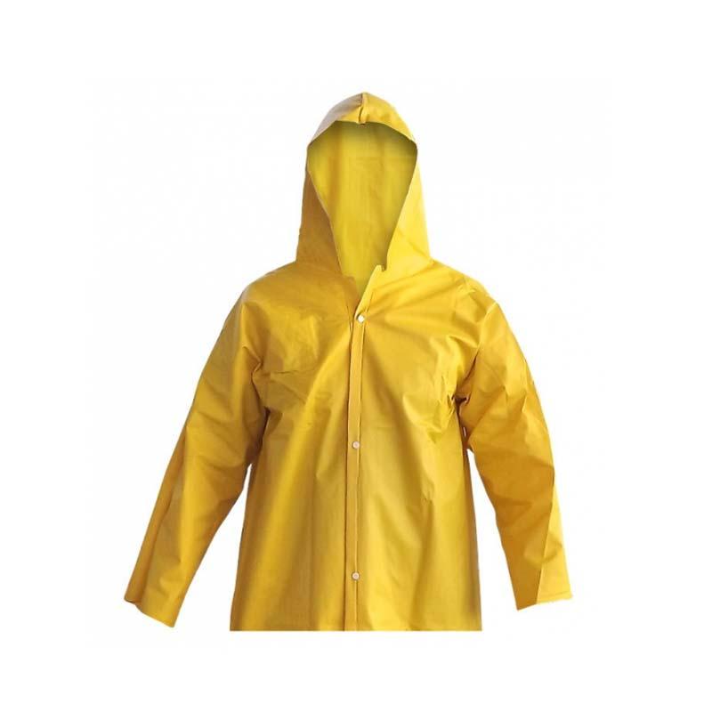 Blusão PVC Amarelo Forrado
