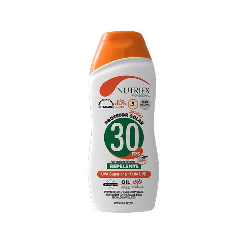 Creme FPS 30 1/3 UBA Com Repelente Nutriex