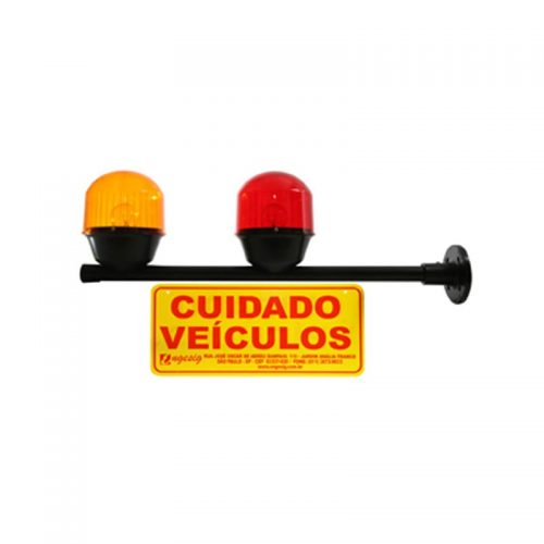 Sinalizador para Garagem Entrada e Saída de Veículos