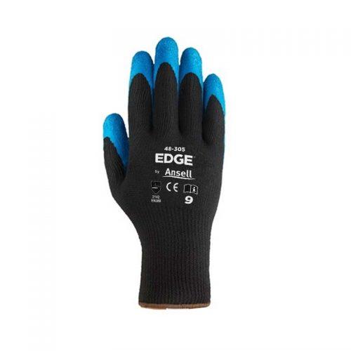 Luva Tricotada de Poliéster Edge 48-305 - Ansell
