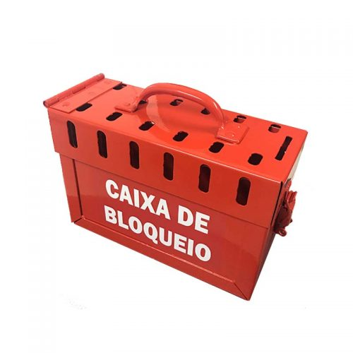 Caixa de Bloqueio de Aço P-13