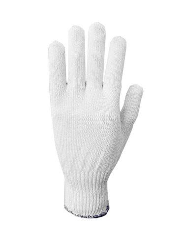 Luva Tricotada Anticorte Branca - Gamiluva