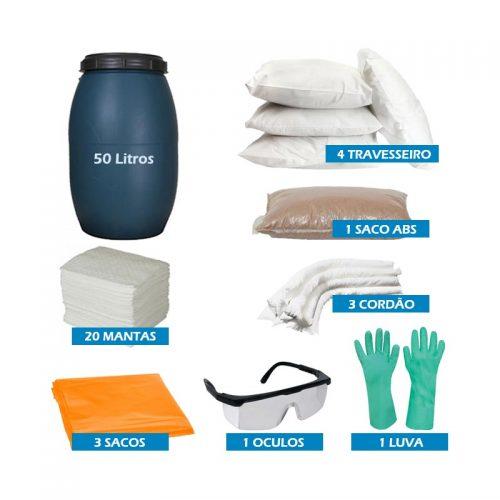 Kit Emergencial Linha Branca 50 Litros