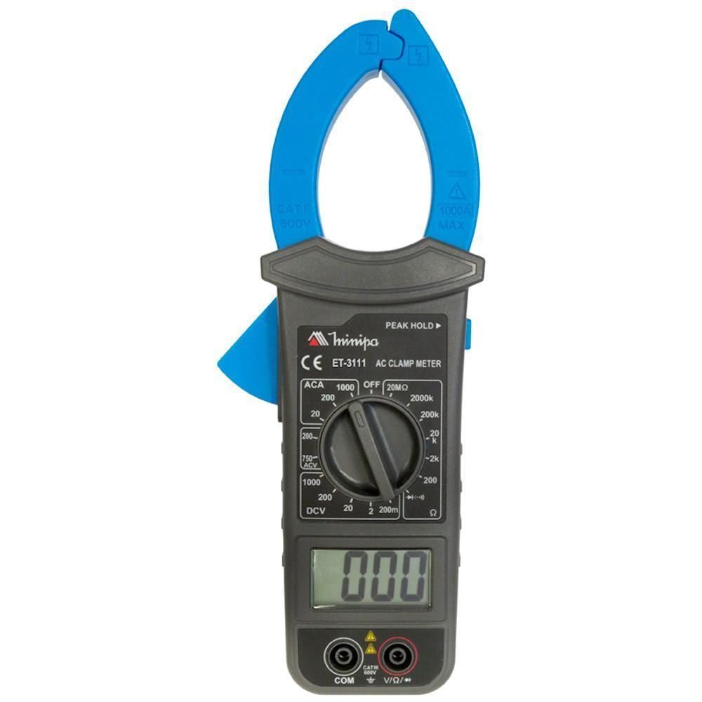 Alicate Amperímetro Digital ET-3111