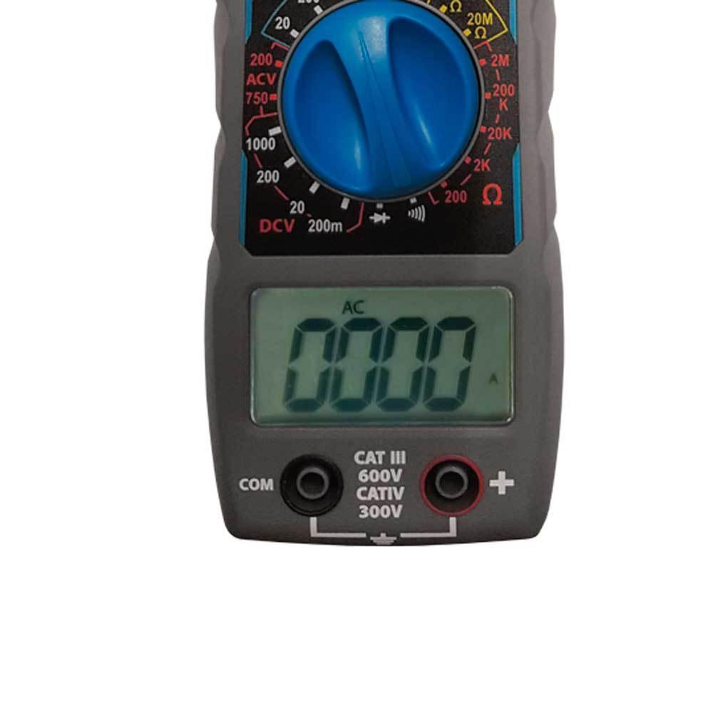 Alicate Amperímetro Digital 300V ET-3201A